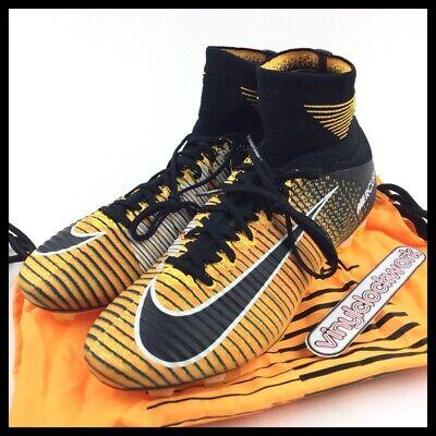 Nike Mercurial Superfly V FG Mens Size 9.5 Soccer Cleats 831940-801 Orange Black