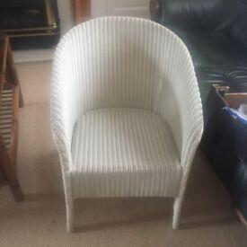 Genuine vintage LLOYD LOOM chair