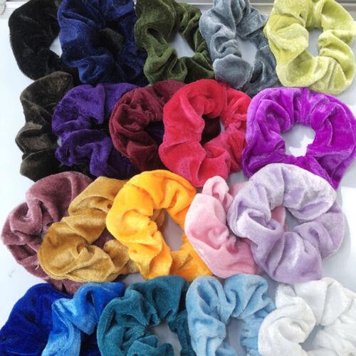 30 Pcs Hair Scrunchies Velvet Elastics Hair Ties Scrunchy Bands Ties Ropes Gifts