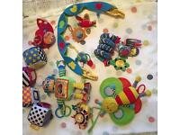 Lamaze & other baby toys