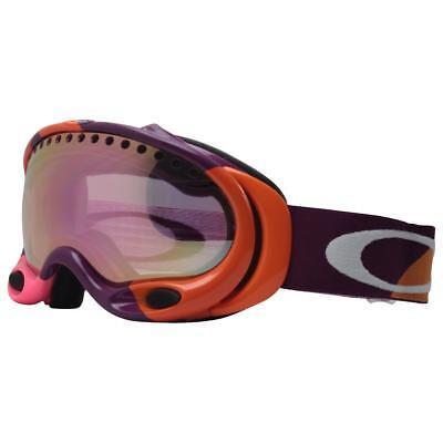 b2298c5ccc7 Oakley 01-831 A FRAME Mango Berry Color Block w  Pink Iridium Snow Ski  Goggles .