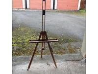 Full size folding wooden artist easel - as new