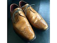 Loake Mens Loake Part Brogue Lace Up Shoe 'Stitch'
