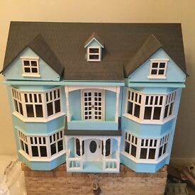 Magnificent wooden dolls house - very large