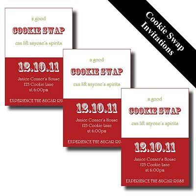p Exchange Printable Invitations (Christmas Cookie Exchange)