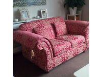 2 seater Damask pattern Sofa.