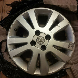 "Vauxhall Astra G 16"" inch alloy wheel 2000-2006 model (2002 SXi) 4 stud"