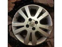 "Vauxhall Astra G 16"" inch alloy wheel 2000-2006 model (2002 SXi) 4 stud"