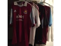 West Ham football shirts