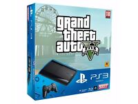 PS3 500GB GTA V + more games