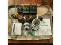 ZTV 2x Wireless Camera Kit with 1x Wireless Receiver
