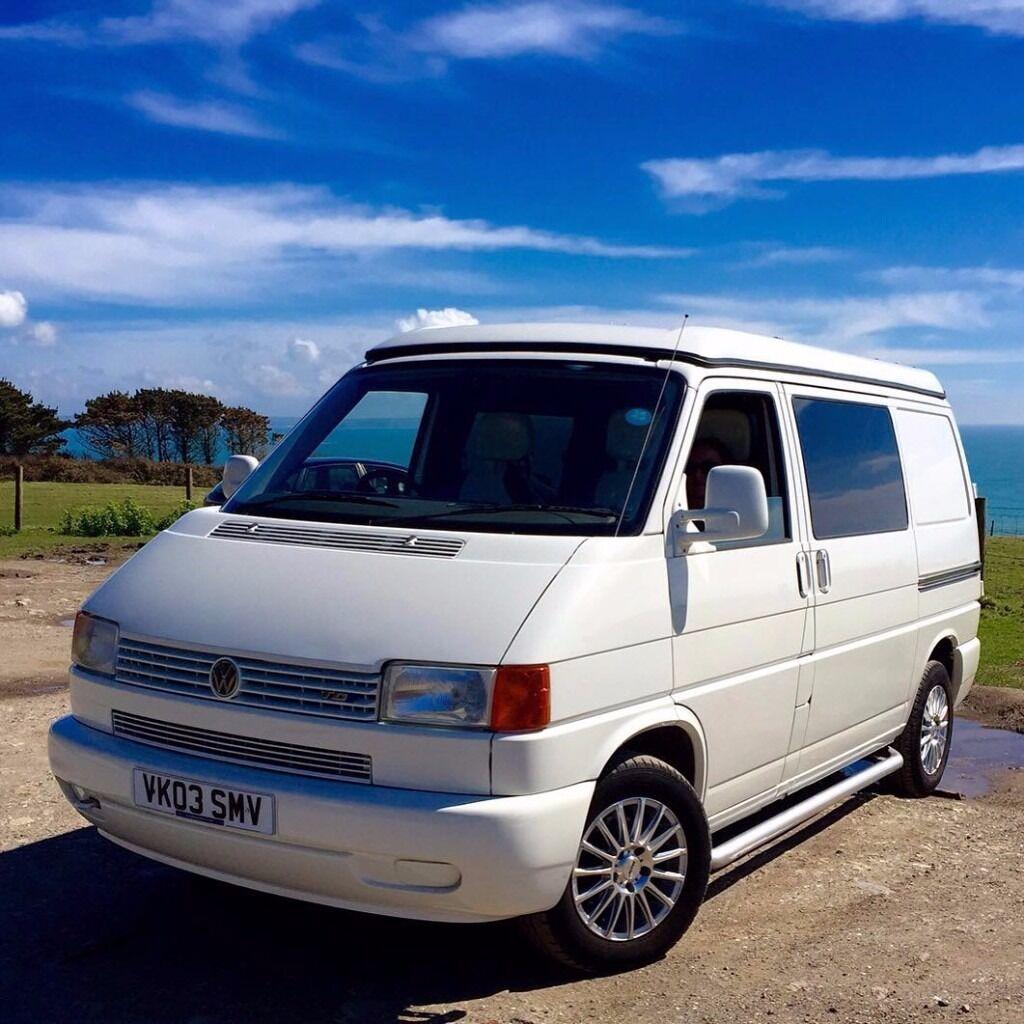 Vw T4 2 5 Tdi Pop Top Camper Van In Lostwithiel