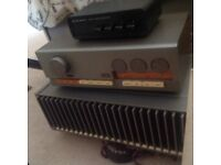 Quad 405 and amplifier