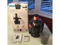 Brand New Philips Juicer -Black