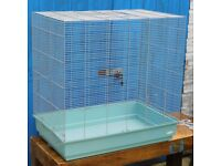 Rodent cage suitable for degus, chinchilla, rat etc
