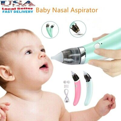 Baby Nose Sucker Electric Nasal Aspirator Snot Booger Cleaner for Kids Toddlers