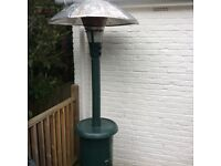 WINCHESTER 15kw PATIO HEATER WITH GAS BOTTLE