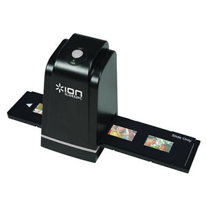 ION SLIDE TO PC 35mm SLIDES NEGATIVES FILM SCANNER 5MP CAMERA OPTION