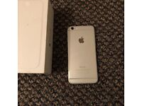 iPhone 6 16GB silver perfect condition