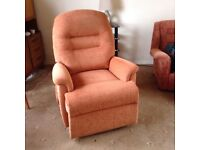 Lift and recline chair