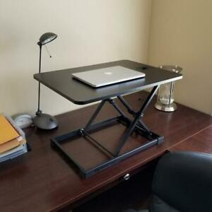 MotionGrey Standing Desk Converter from Sit to Stand