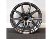 """18"""" Transit Spyder style alloys wheels and tyres (5x160) Suit most Ford Transit models"""