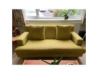 Two seater sofa - green