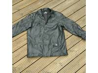 Mens Ben Sherman padded leather jacket