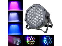 80W 36 LEDs Lights Stage Lighting Can Disco RGB DMX512 DJ Club Party Effects