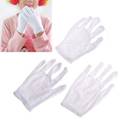 Kids Fun Express White Etiquette Polyester Child Size Performance Costume Gloves](Costume Express Kids)