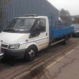 fordtransit 2005 dropside recovery truck T350 90psi