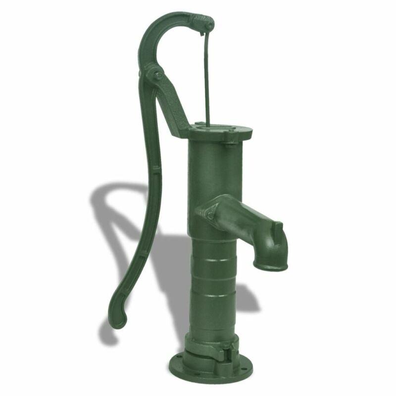 vidaXL Hand Pump Cast Iron Outdoor Yard Pond Well Water Pitcher Press Suction