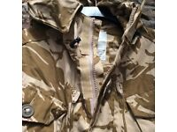 Brand new smock combat windproof desert jackets. size 180/96