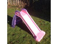 Little tikes slide pink purple