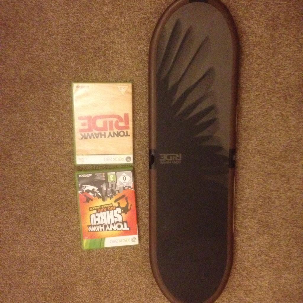 Xbox 360 Tony hawk skateboard