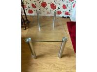 Coffee table and dining table with 6 chairs