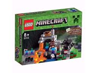LEGO Minecraft The Cave Playset 21113 Brand New and Sealed