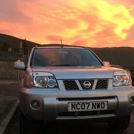 Silver X Trail , excellent runner , good service history, MOT till Aug 17 , no rust or dings
