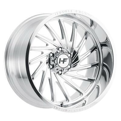 22 inch 22x12 Hostile Forged HF06 CHAOS POLISHED wheel rim 8x170 -44