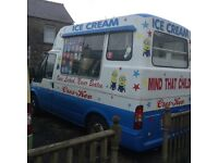 Hard ice cream van, turbo diesel, power steering