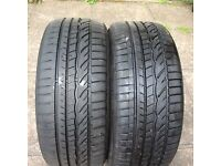 2 X 225/45/17 £75.00 MUST SEE