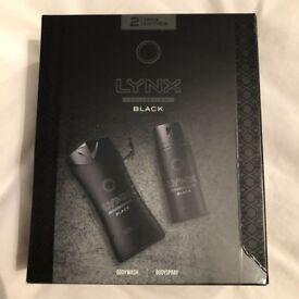 BARGAIN! - Lynx Black Bodywash/spray set
