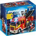 Brandweer pompwagen met licht en sirene Playmobil (5363)