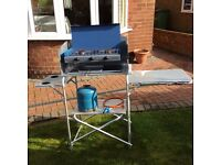 Camping Gaz Chef stove with hose , regulator and 907 gaz bottle