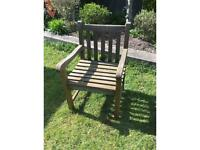 Bench Style Garden Chairs £25 each