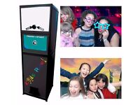 SELFIE/PHOTO BOOTH - 2 HRS ONLY £150 - UNLIMITED PRINTS/GREEN SCREEN/MANNED