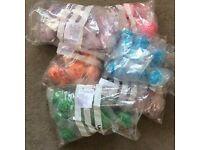 Wholesale bath of 60 bubble bath scoops
