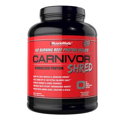 MuscleMeds Carnivor Shred 4.56LB Choclate Flavor