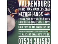 Christmas Markets VALKENBURG coach trip