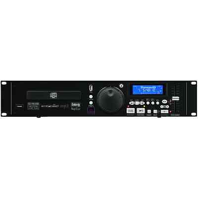 IMG Stageline CD-196USB Rack CD Player DJ Disco Install Sound Audio + Remote